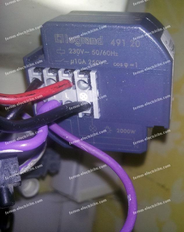 télérupteur Legrand 49120