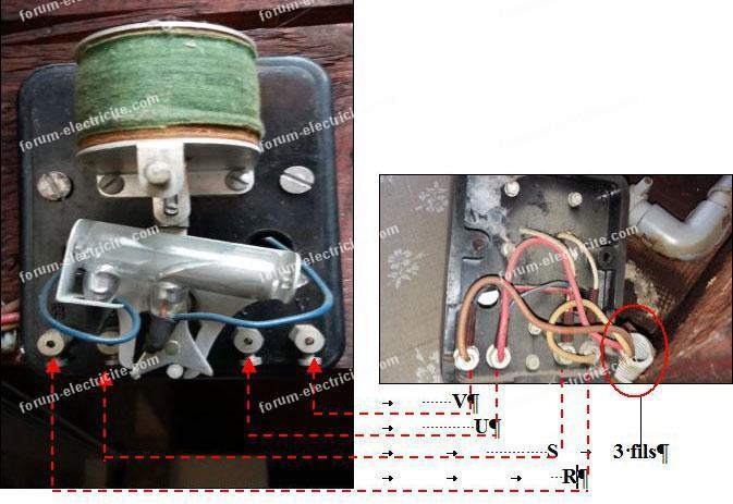 Remplacer télérupteur à mercure par télérupteur unipolaire