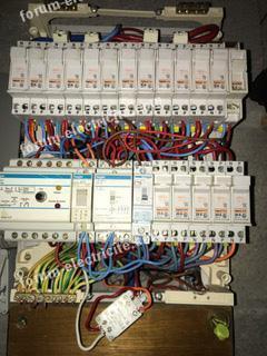 télérupteur dans tableau électrique
