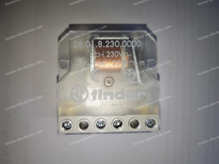 Finder 260882300000PAS T/él/érupteur Bo/îte volet roulant 2 NO 230 VAC 4 s/équences 10 A