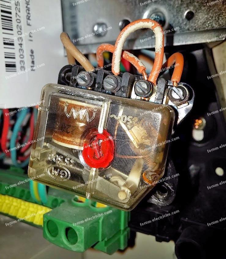 Remplacer télérupteur GM 45500