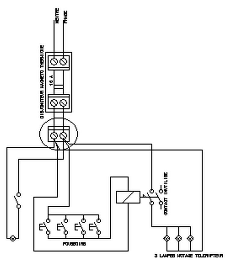 cablage telerupteur hager  cablage telerupteur hager  comment brancher le telerupteur hager