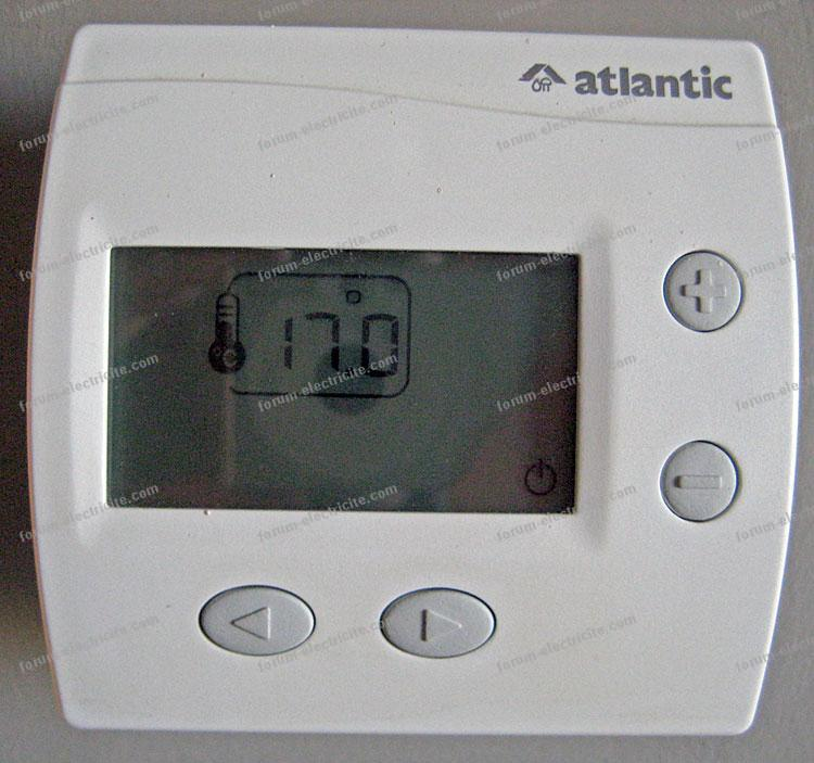 thermostat Atlantic 109419