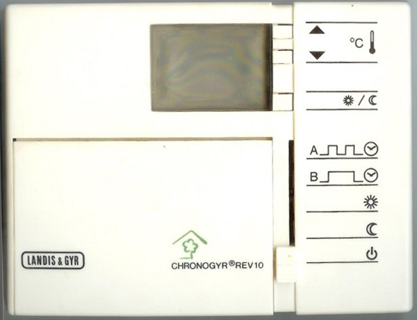 thermostat landis gyr