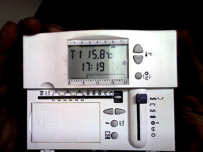 thermostat siemens 1