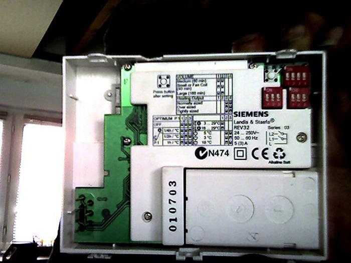 thermostat siemens 2