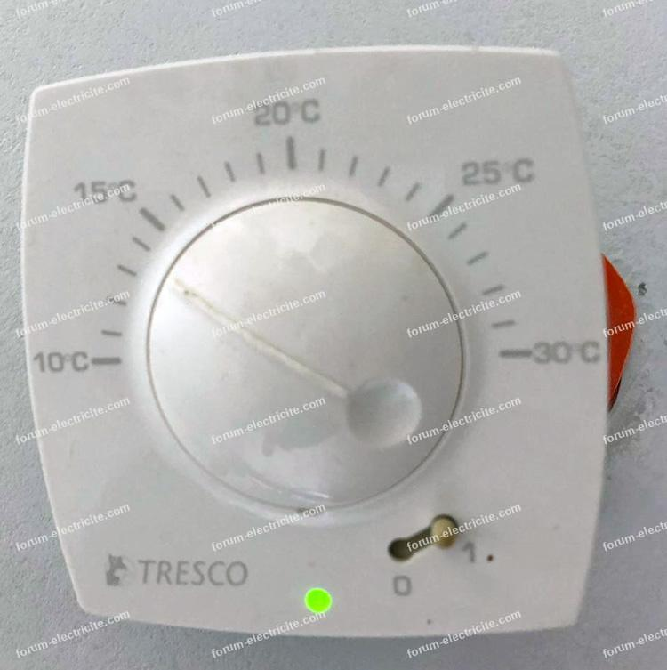 thermostat Tresco