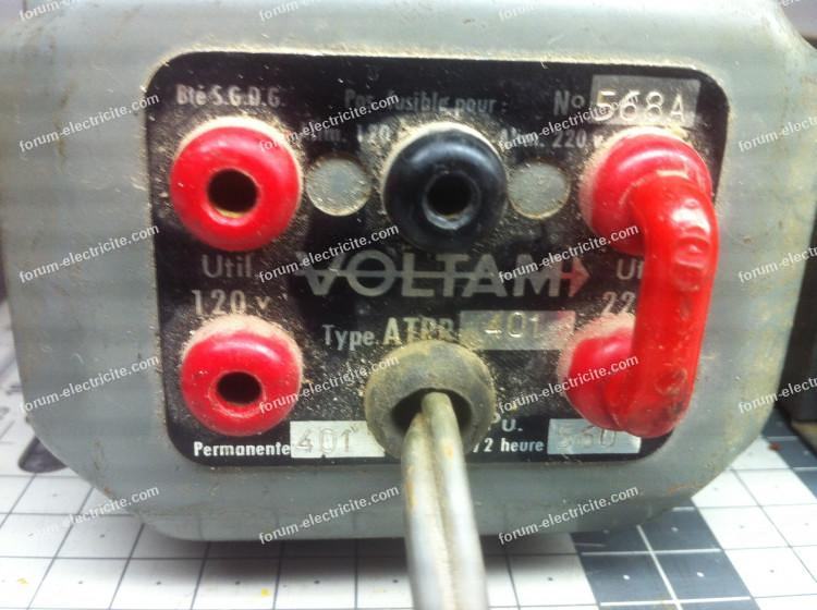 transfo machine à coudre
