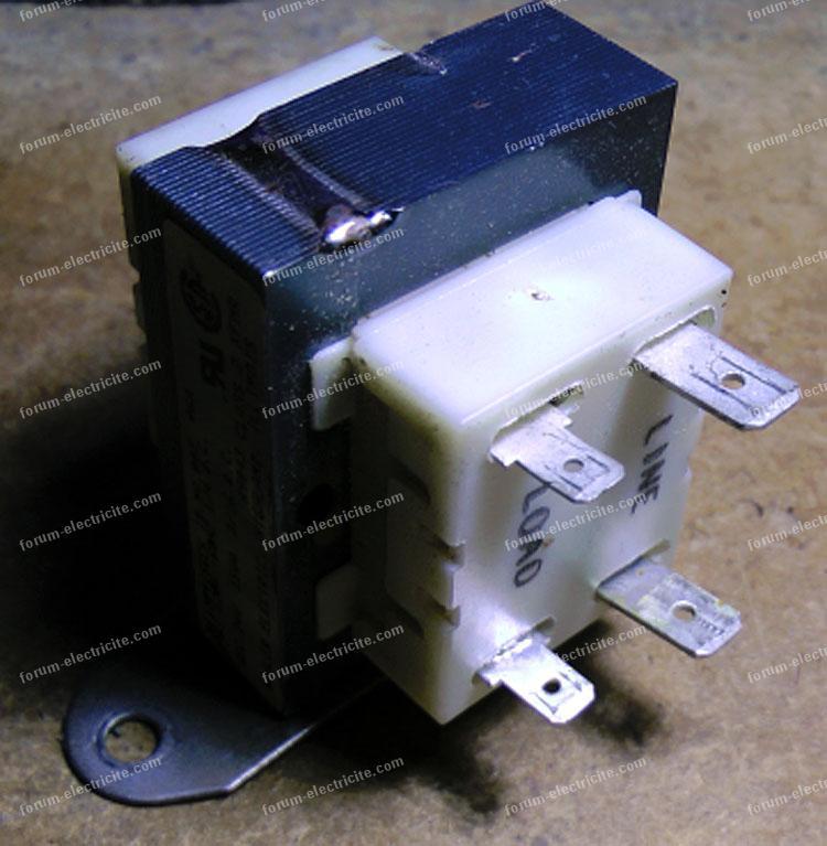 transformateur moteur électrique