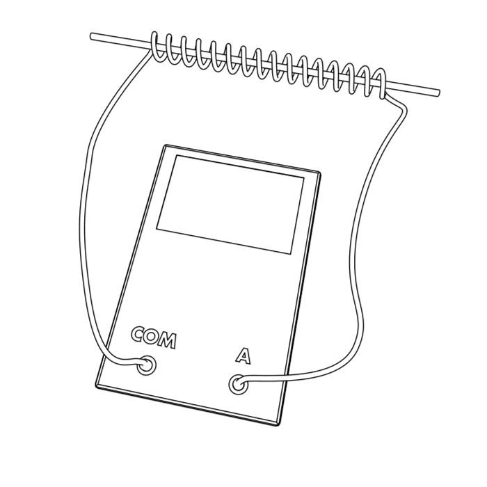 Utiliser multim tre pour faire pince amp rem trique - Comment utiliser un multimetre ...