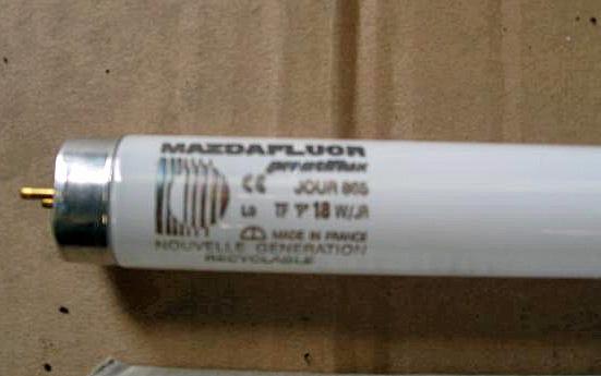 tube fluorescents Mazdafluor