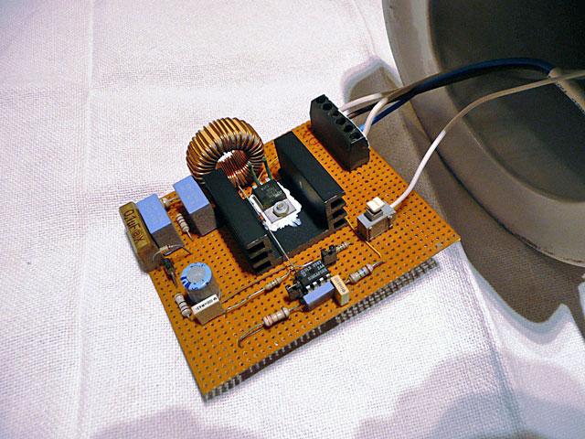 variateur circuit imprime