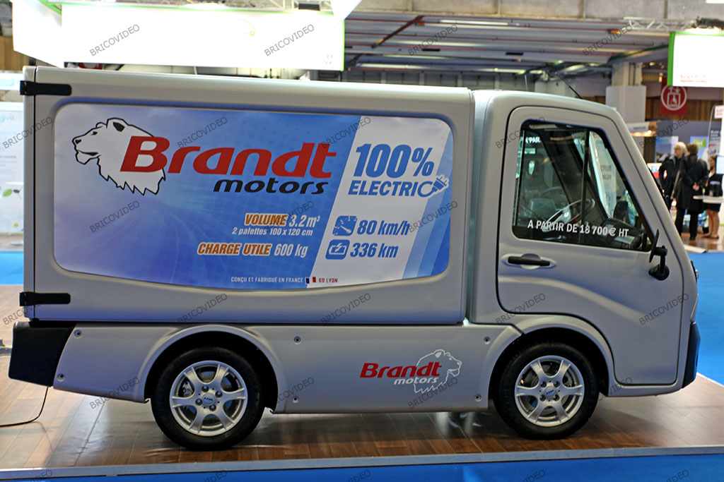 véhicule utilitaire électrique Brandt