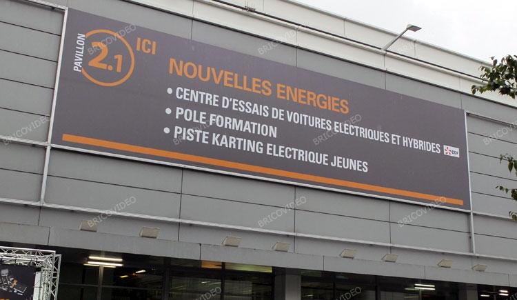 voitures électrique salon de l'auto 2012
