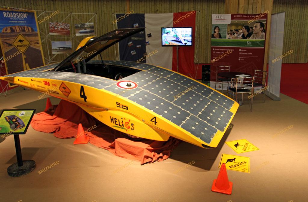 voiture électrique solaire