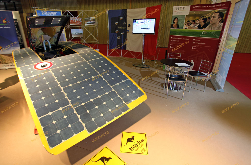 voiture solaire électrique