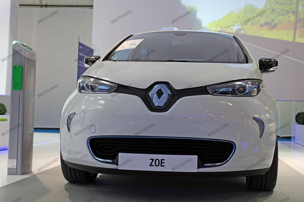 Zoe voiture électrique Renault 2012